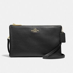 LYLA CROSSBODY (COACH F34265) BLACK/LIGHT GOLD